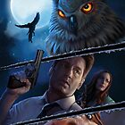 « The X-Files comic book cover- Hoot goes there? #2 » par Chimerart
