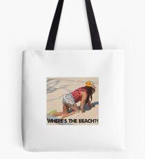 snooki where's the beach sticker Tote Bag