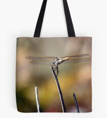 Variegated Meadowhawk Under the Sun Tote Bag