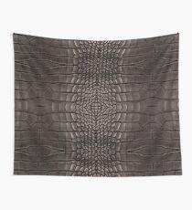 Black Alligator Skin Wall Tapestry