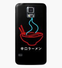 Spicy Ramen Noodles Neon Case/Skin for Samsung Galaxy
