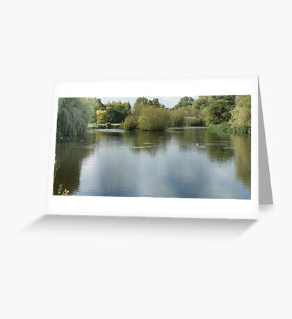 Foots Cray Medows River Greeting Card
