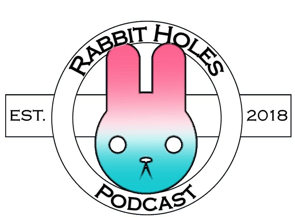 Rabbit Holes Podcast Traditional Logo by RabbitHolesPod