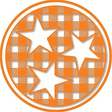 Tennessee Gingham Tristar by MorganNicole021