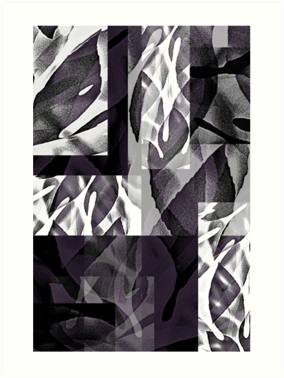 Fatsia Japonica Abstract Design by Jenny Meehan  by Jenny Meehan