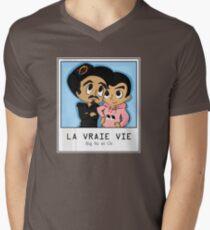 Bigflo and Oli THE REAL LIFE Men's V-Neck T-Shirt