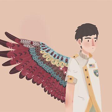 Sufjan Stevens with Wings by juliacerda