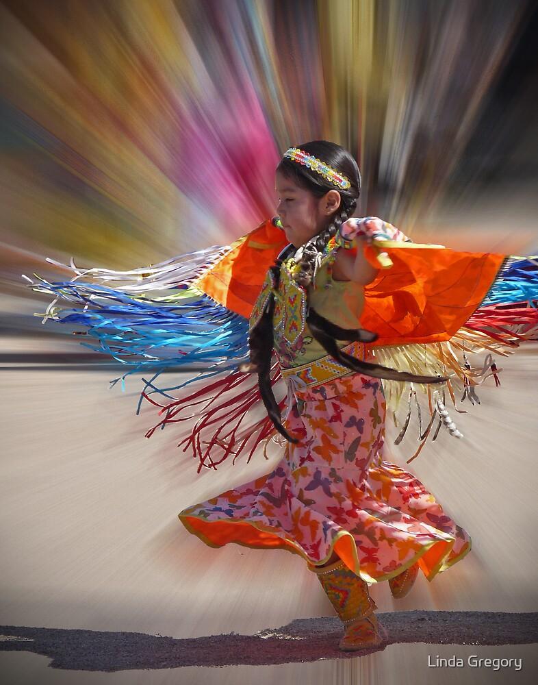 Little Fringe Dancer by Linda Gregory