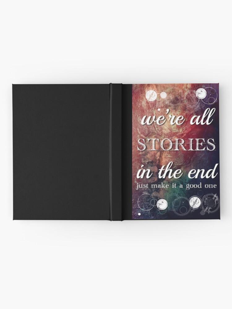 Vista alternativa de Cuaderno de tapa dura Todos somos historias al final