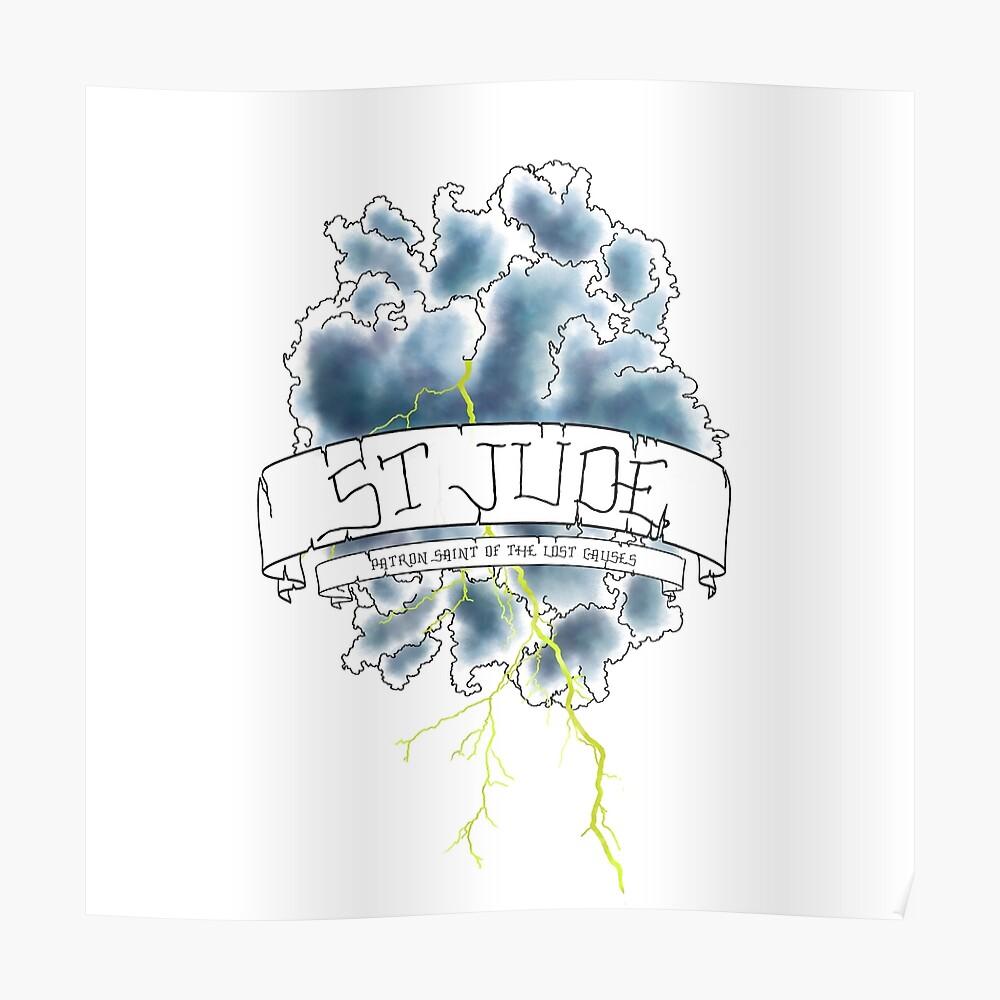 Florenz + die Maschine - St. Jude Poster
