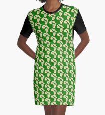 Africa giraffe silhouette Graphic T-Shirt Dress