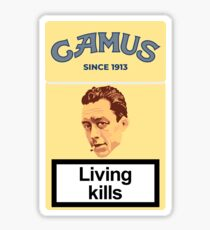 Philosopher Albert Camus Sticker