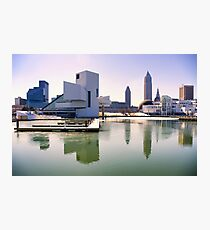 The Rock and Roll Hall of Fame and Museum, Cleveland Photographic Print