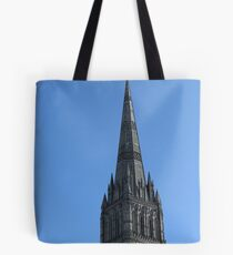 Salisbury Cathedral Spire Tote Bag