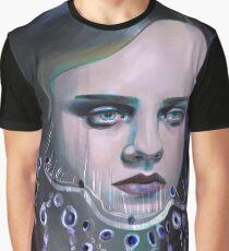 Sad Girl Graphic T-Shirt