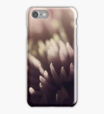 Pink Flower in Shadow iPhone Case/Skin