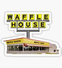 waffle house Sticker