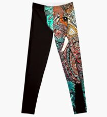 BOHO SUMMER ELEPHANT Leggings