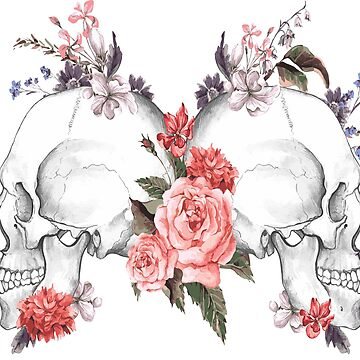 Rose SKulls by JbandFKllc