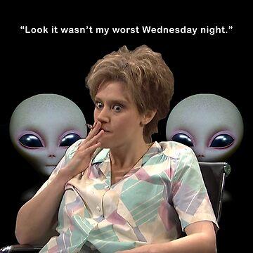 Kate Mckinnon Aliens by hrubiks