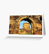 Old Guard Tower Greeting Card