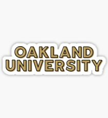 Oakland University - Style 10 Sticker