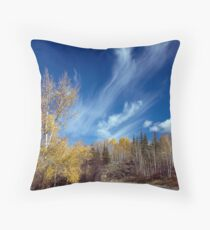 Mares' Tails Throw Pillow