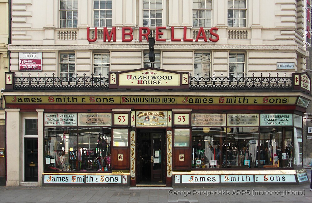 Smiths & Sons - Umbrellas by George Parapadakis (monocotylidono)