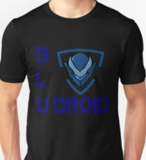 Bludroid™ | Official Word Logo  Unisex T-Shirt