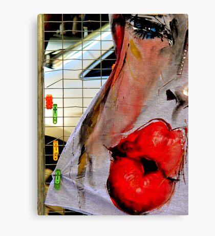 Hot Kiss Canvas Print