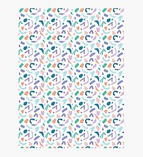 Abstract Cut Out Shapes Photographic Print
