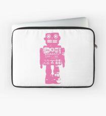 Pink Robot Laptop Sleeve