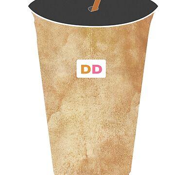 Dunkin Donuts Iced Coffee by cassadunn