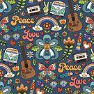 Peace & Love by Elisabeth Fredriksson