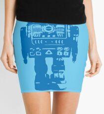Clockwork Blue Mini Skirt