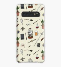 Owl and wand Case/Skin for Samsung Galaxy