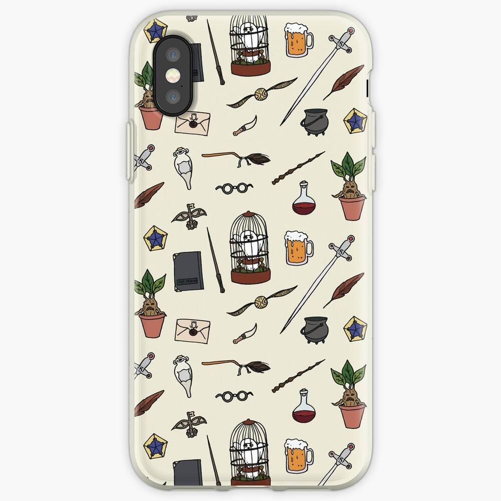 Owl and wand iPhone Case & Cover