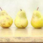 Three Pears von suzannem73