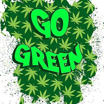 Go Green by Bethany-Bailey