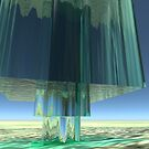 Three Stacked Cubes of Water by JoreJj Z. Elprehzleinn