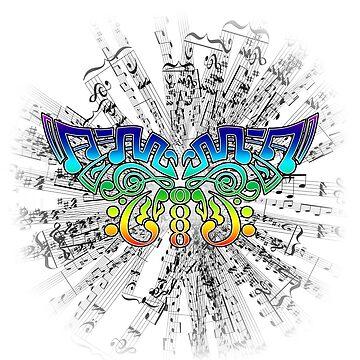 Music gives me wings by ElmurFud