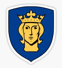 Stockholm Coat of Arms  Sticker