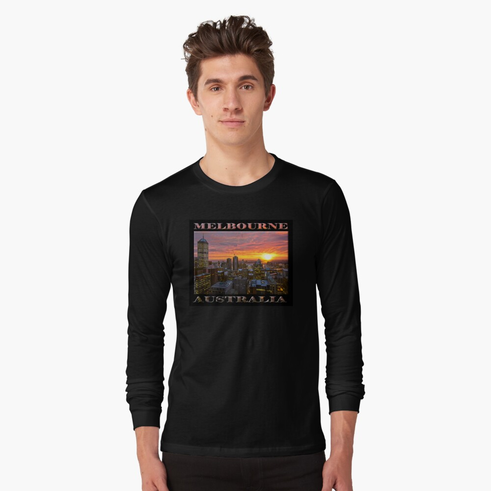 End of Days (poster on black) Long Sleeve T-Shirt
