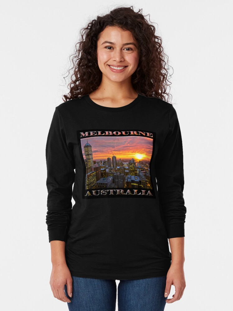 Alternate view of End of Days (poster on black) Long Sleeve T-Shirt