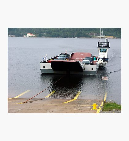 Cable Ferry at Country Harbour Photographic Print