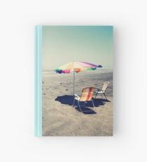 Beach Day Hardcover Journal