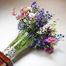 Wedding Flower Bouquet by BlaizerB