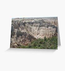 Badlands Collection 2009 Greeting Card