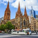 Downtown Melbourne by Ray Warren