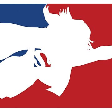 Superhero Pro Sports Logo T-Shirt  by DrawingMaurice